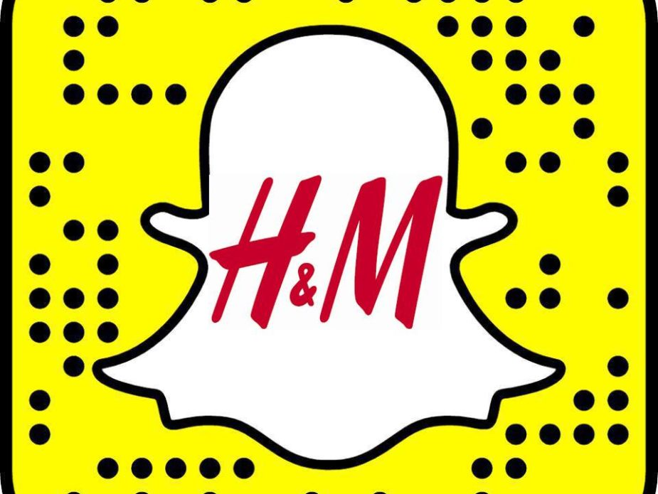 H&M et Snapchat