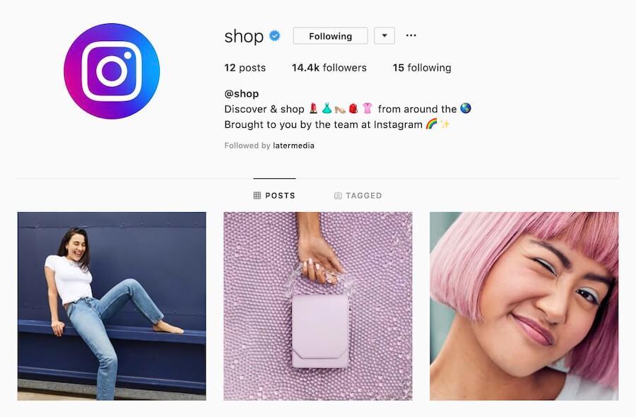 La nouvelle fonctionnalité d'Instagram, Instagram Shop